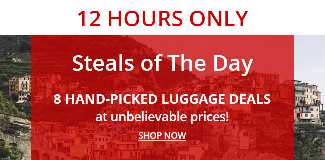 Best Luggage Deals | Save Up to 85% | Shop All Deals