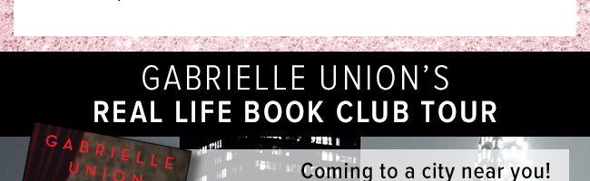Gabrielle Union Book Tour