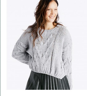 Shop Moon River Chunky Sweater