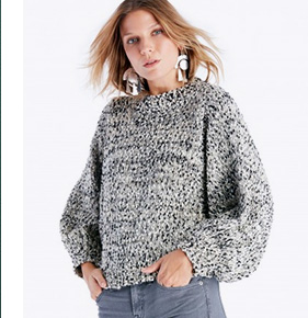 Shop Moon River Cocoon Sleeve Sweater