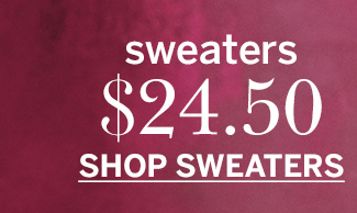 $24.50 Sweaters