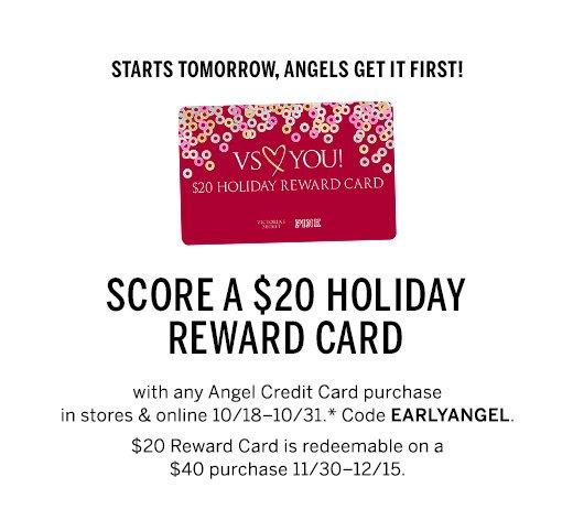 Reward Card*