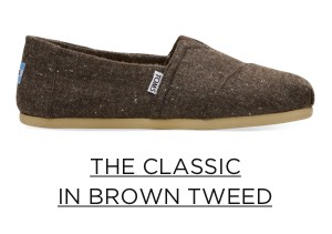 The Classic in Brown Tweed