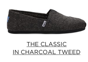 The Classic in Charcoal Tweed