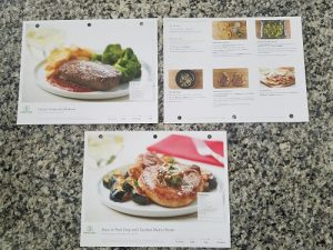 Mybargainbuddy free loreal revitalift my first home chef each of the meals were packaged separately and included everything needed to prep except salt pepper and oil the recipe cards were in color forumfinder Choice Image