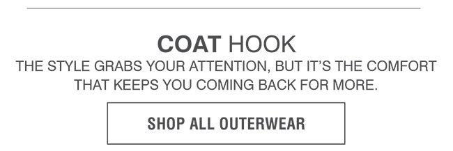 OUTERWEAR | COAT HOOK