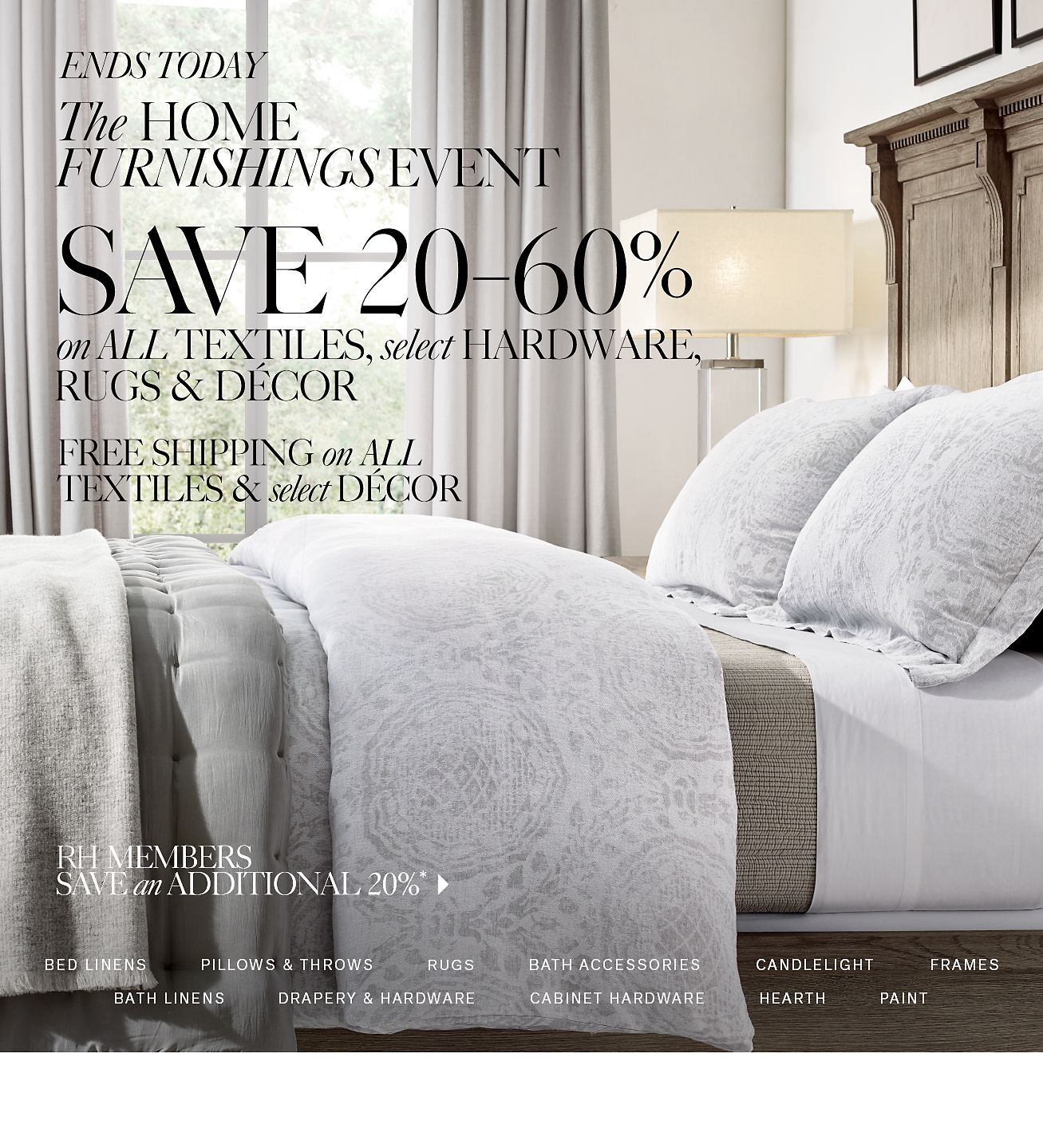 The Home Furnishings Event - Save 20–60%