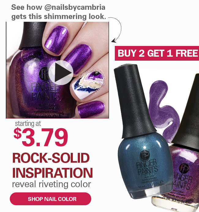 Buy 2 Get 1 Free Nail Color