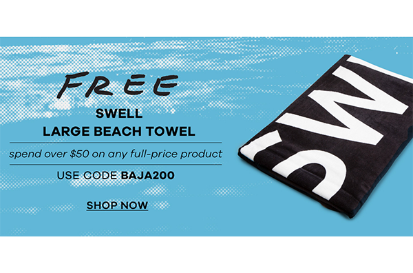 FREE SWELL Beach Towel