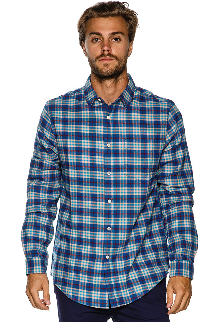 CATCH SURF TURNER LS FLANNEL