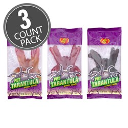 Gummi Pet Tarantulas - 1.5 oz - 3 Count