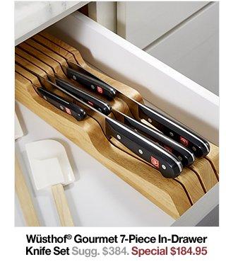 Wüsthof® Gourmet 7-Piece In-Drawer Knife Set