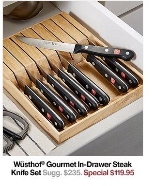 Wüsthof® Gourmet In-Drawer Steak Knife Set