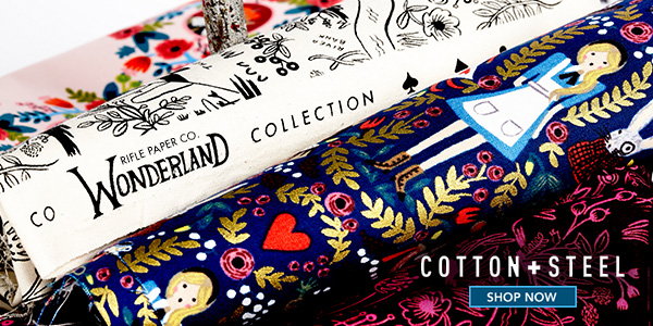 Cotton + Steel Rifle Paper Co. Wonderland