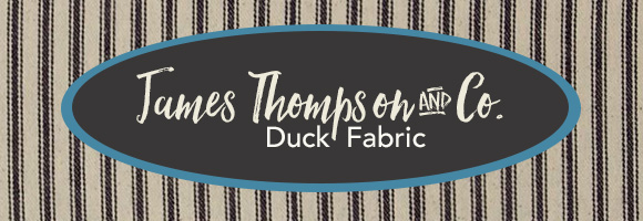 James Thompson and Company Duck Fabric