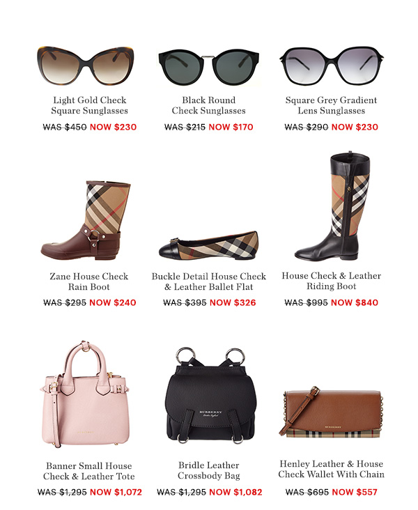 BURBERRY STYLES, UP TO 60% OFF, SHOP NOW