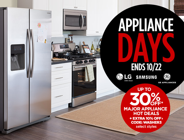 appliance days
