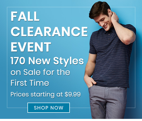 The Perry Fall Clearance Event - SHOP NOW