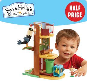 Ben & Holly's Elf Tree Playset