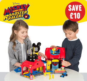 Mickey Mouse Roadster Racers Garage