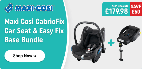 Maxi Cosi CabrioFix Group 0+ Car Seat and Easy Fix Base Bundle