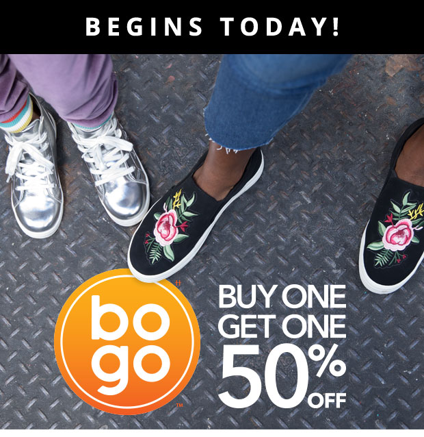 BOGO BEGINS TODAY!