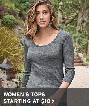 STOCK UP NOW | SHOP WOMEN'S TOPS