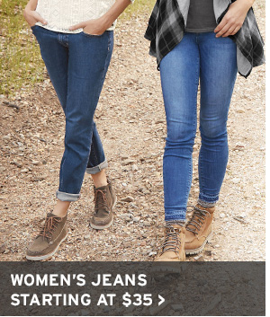 STOCK UP NOW | SHOP WOMEN'S JEANS
