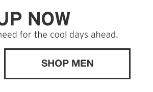 STOCK UP NOW | SHOP MEN