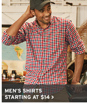 STOCK UP NOW | SHOP MEN'S SHIRTS