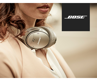 Bose | Bose QuietComfort 35 wireless headphones II | Bose + Voice. Now you're talking. | SHOP NOW