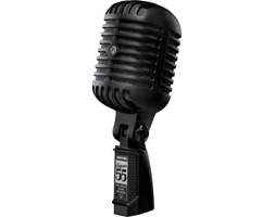 Shure Announces New Pitch-Black Super 55 Limited Edition Microphone
