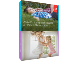 New: Easy-to-Use Adobe Photoshop Elements, Premiere Elements 2018