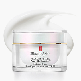 FLAWLESS FUTURE Our lightweight, day cream intensely hydrates and brightens skin. PERFECT
