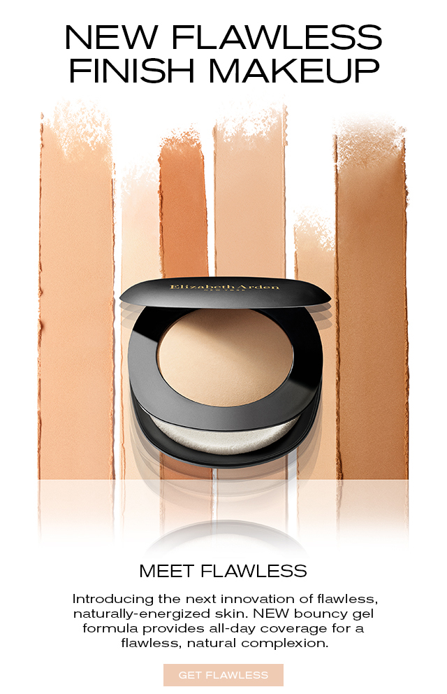 NEW FLAWLESS FINISH MAKEUP MEET FLAWLESS. Introducing the next innovation of flawless, naturally-energized skin. NEW bouncy gel formula provides all-day coverage for a flawless, natural complexion. GET FLAWLESS