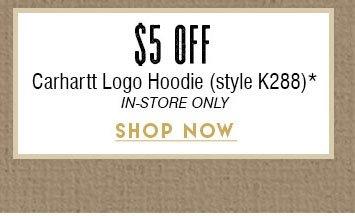 $5 Off Carhartt Hoodie »