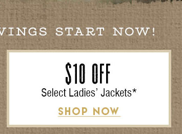 $10 Off Select Women's Jackets »