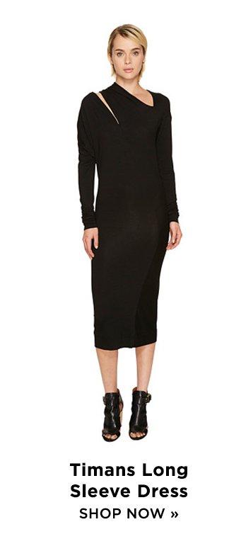 Shop Timans Long Sleeve Dress