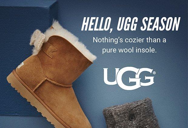 HELLO, UGG SEASON