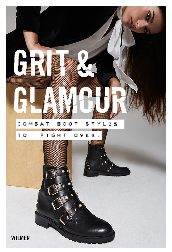 111a91bff6d GRIT   GLAMOUR  Combat boot styles to fight over