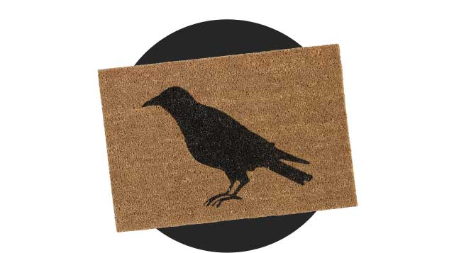 Save 30% Black Glitter Crow Doormat ›