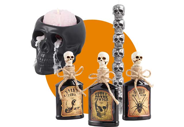 Save 30% Skulls & Skeletons Decor ›