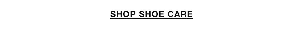Shop Shoe Care