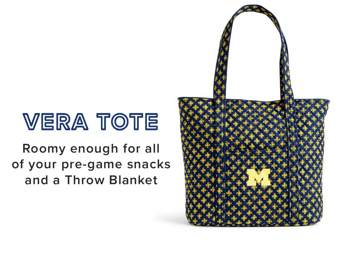 Collegiate Vera Tote in University of Michigan