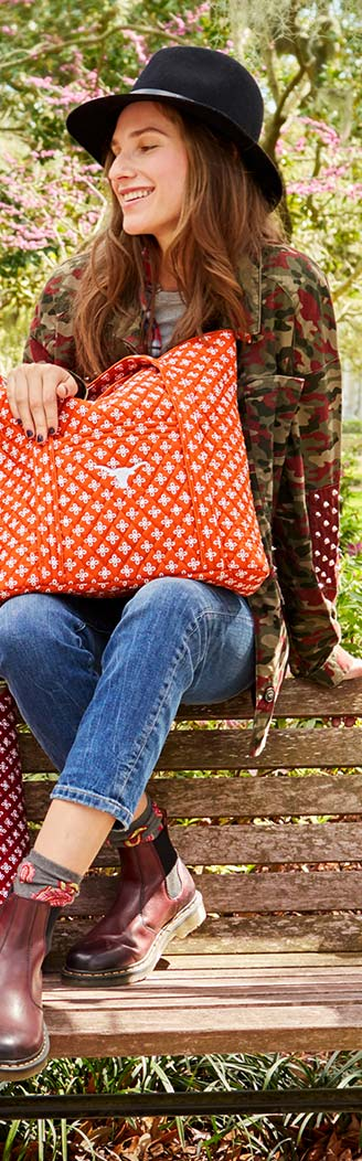 Collegiate Vera Tote in University of Texas