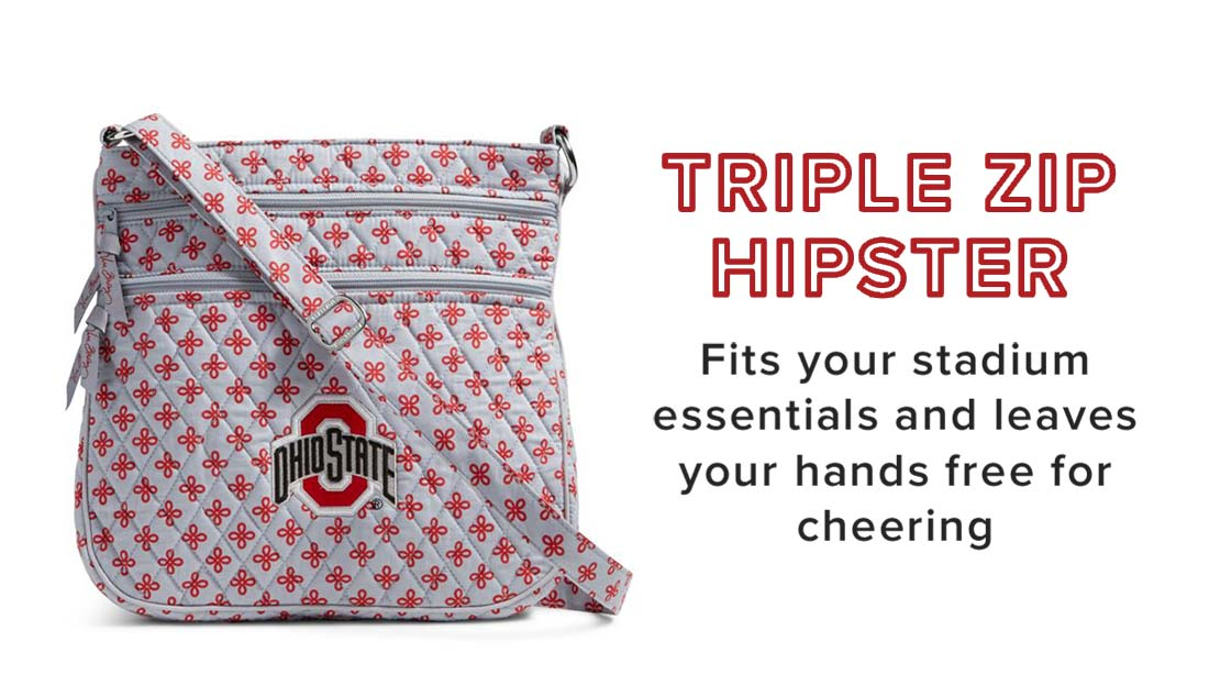 Triple Zip Hipster in The Ohio State University