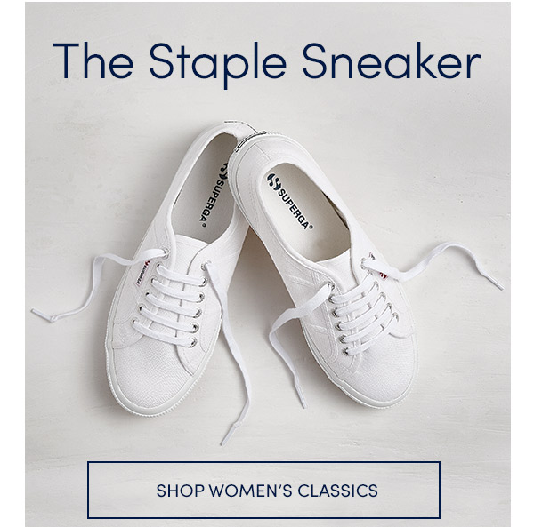 The STAPLE SNEAKER - SHOP WOMEN'S CLASSICS