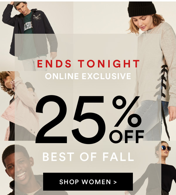 25% off | Shop Now
