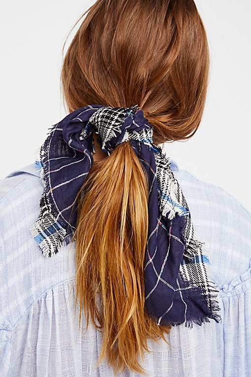 Patchwork Plaid Bandana