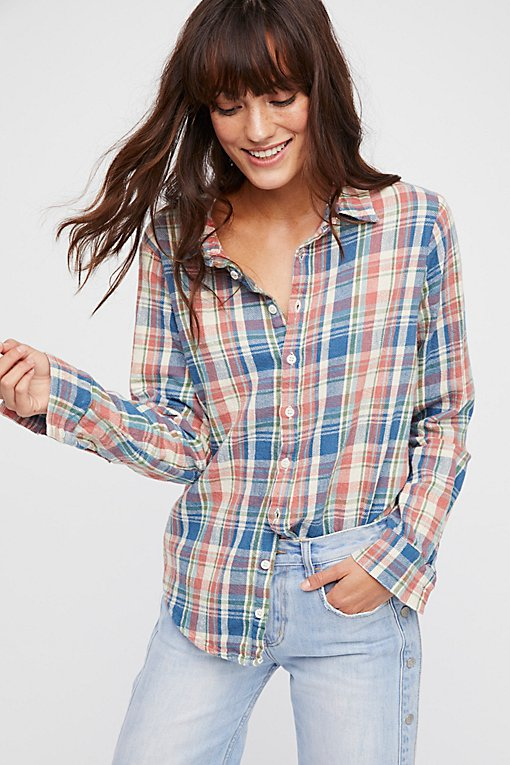 Sasha Flannel Buttondown